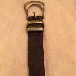 Leather belt by elite